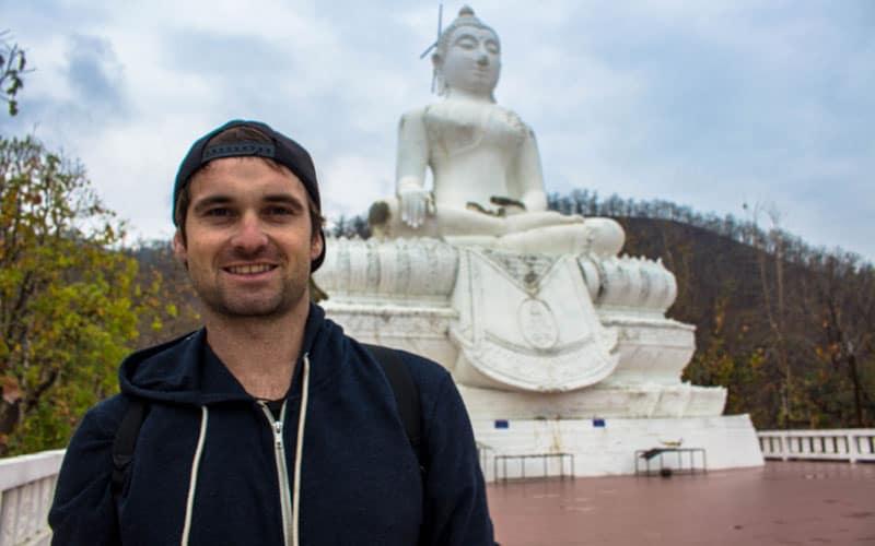 Pai Thailand things to do Buddha Selfie