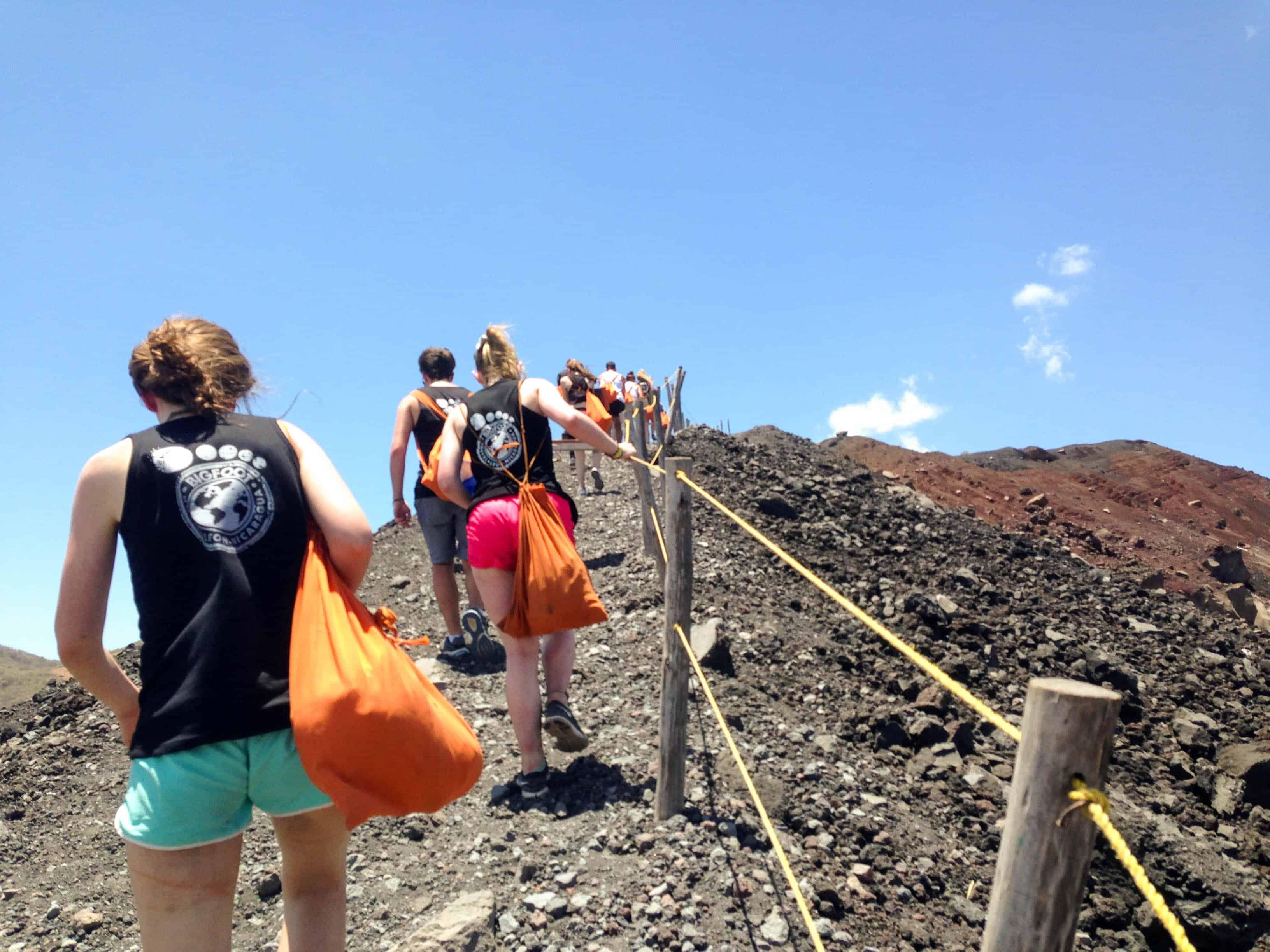 Volcano Boarding Carre Negro