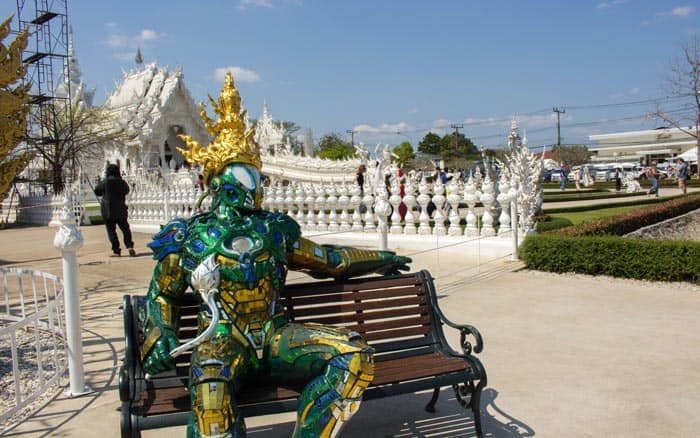 Chiang Mai things to do - White Temple
