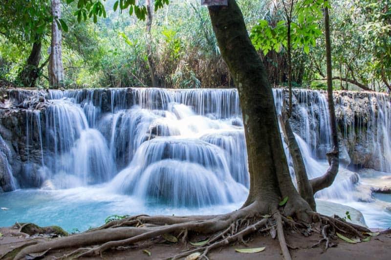 Broken Limitz Kuang Si Waterfalls