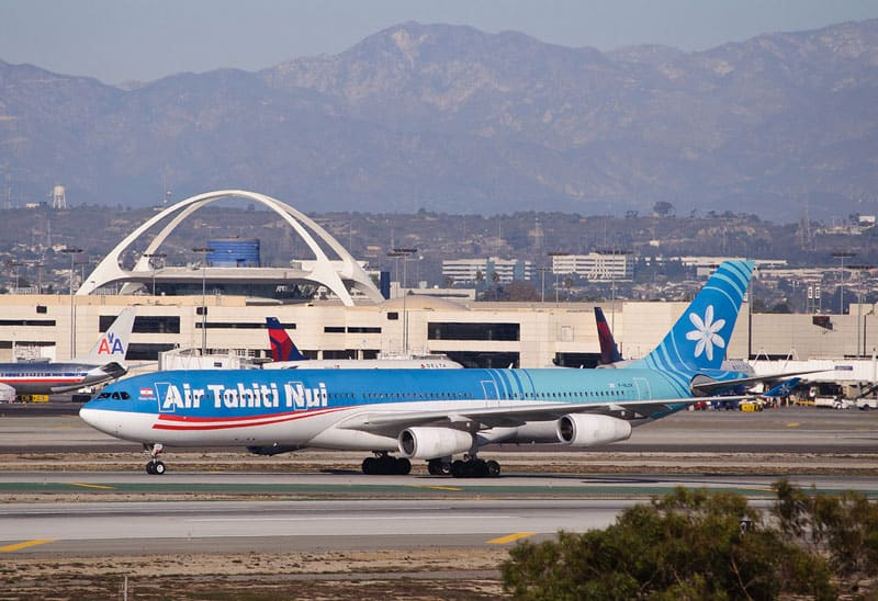 Flying Air Tahiti Nui