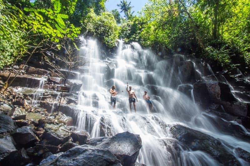 things to do in bali, kanto lampo waterfalls, twin waterfalls, things to do in bali indonesia, bali indonesia wateraflls