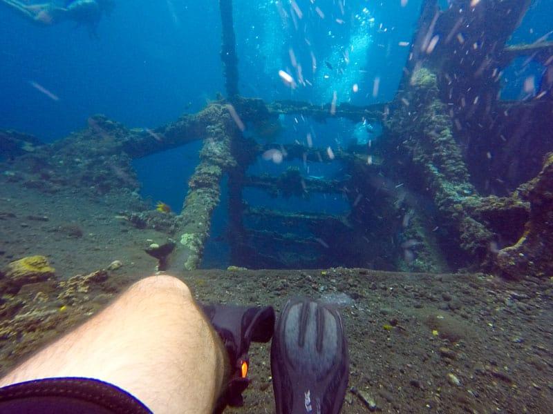 top 12 things to do in bali shipwreck