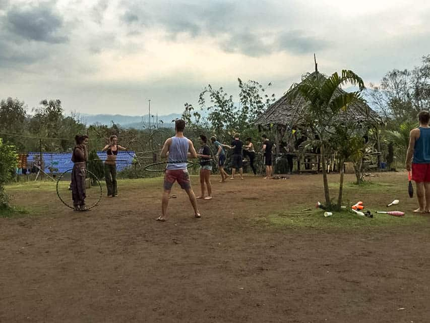 Pai Thailand things to do Circus School & Hostel