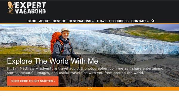 Top 10 Travel Blogs of 2016 - Expert Vagabond
