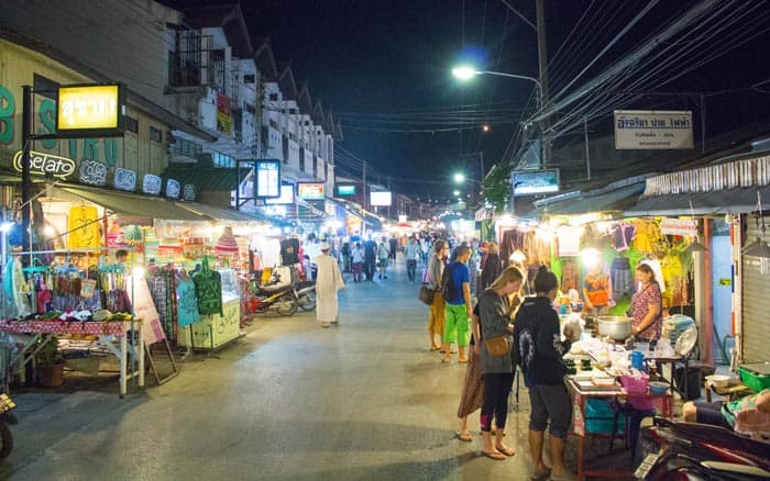 Pai Thailand things to do night markets