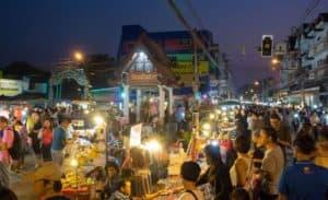 Saturday walking street Chiang Mai broken limitz