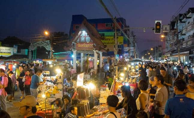 Night Markets in Chiang Mai Thailand