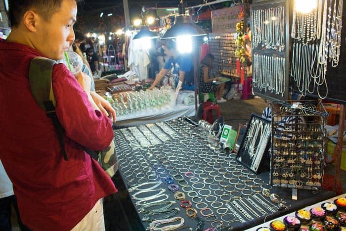 Saturday walking street Chiang Mai jewellry