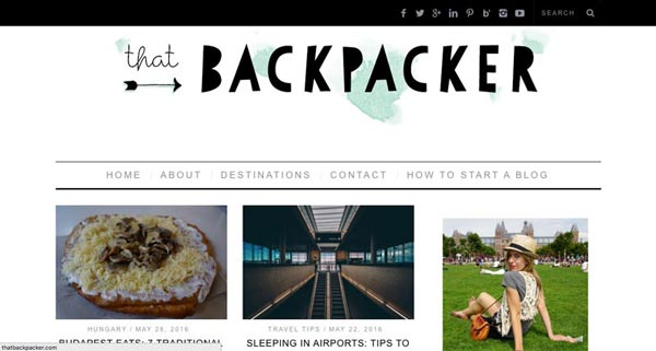 Top 10 Travel Blogs of 2016 - That Backpacker