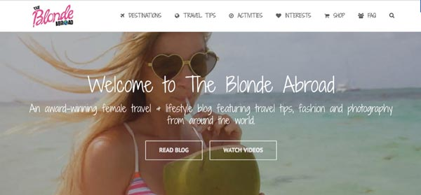 Top 10 Travel Blogs of 2016 The Blonde Abroad