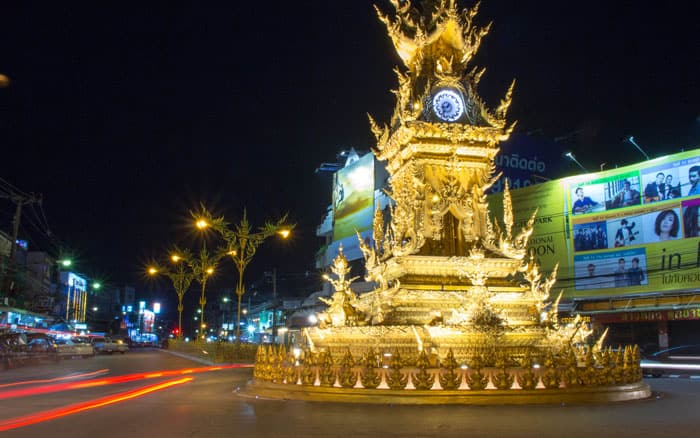 Chiang Mai things to do - Town Clock