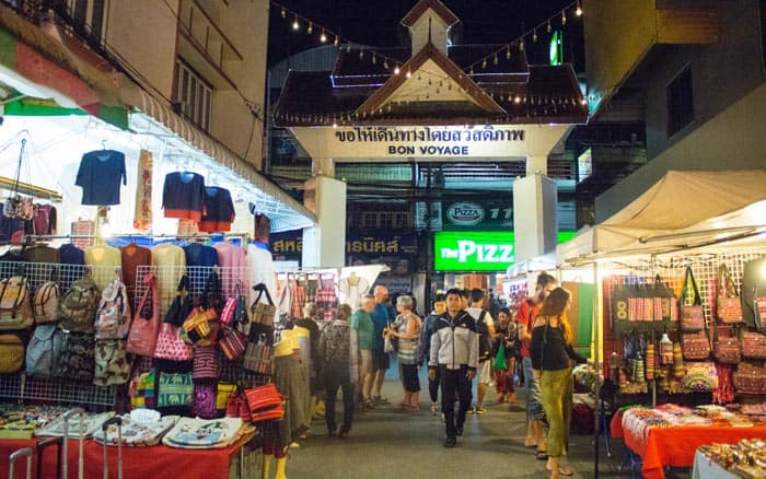 Chiang Mai things to do - Night Markets