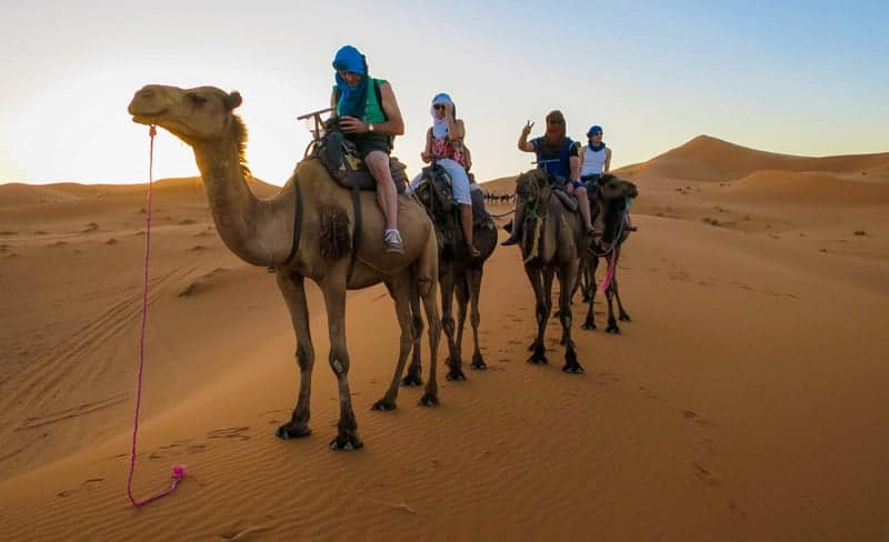 Sandstorms and Camels – Moroccan Merzouga Desert Tour
