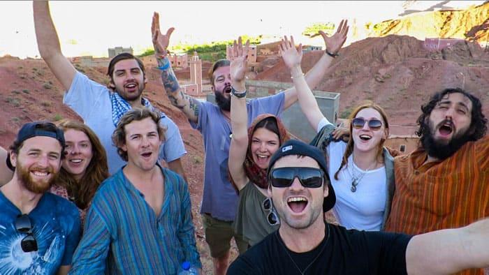 Riding Camels Morocco Desert Tour