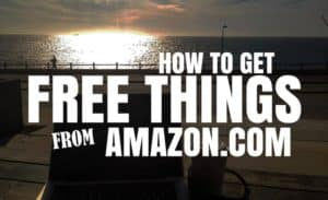 How to get free things from Amazon