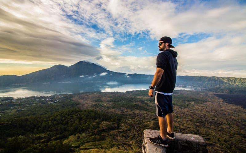 Mt Batur Volcano Trek View