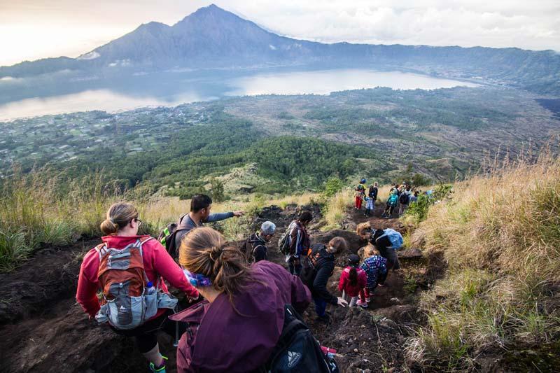 Mt Batur Volcano Descend