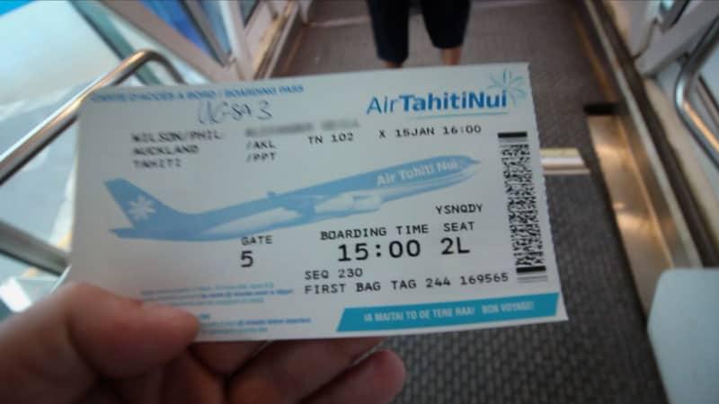 Air Tahiti Nui Business Class