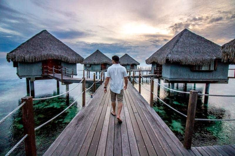 Overwater Bungalows Islands of Tahiti