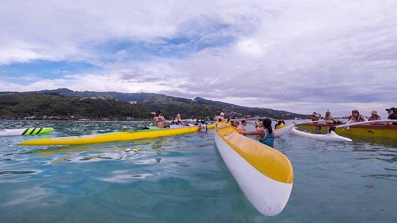 Islands of Tahiti Va'a