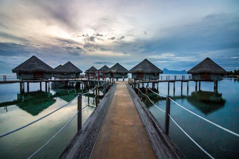 The Islands of Tahiti Water Bungalows