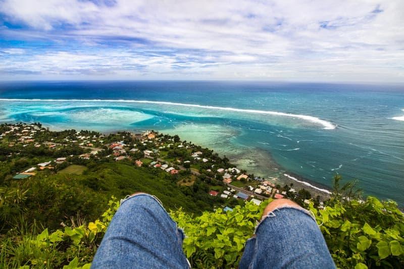 Moorea French Polynesia Magic Mountain