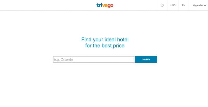 Trivago Accomodation