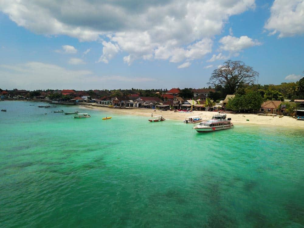 Nusa Lembongan, Bali, Indonesia, Drone Bali, Drone Nusa Lembongan