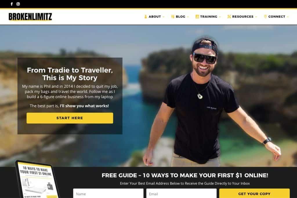 Broken Limitz Website Blog