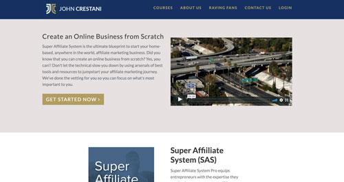 High Ticket Affiliate Programs Super Affiliate System