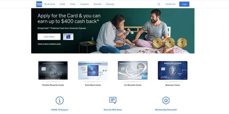 American Express Canada credit card affiliate program