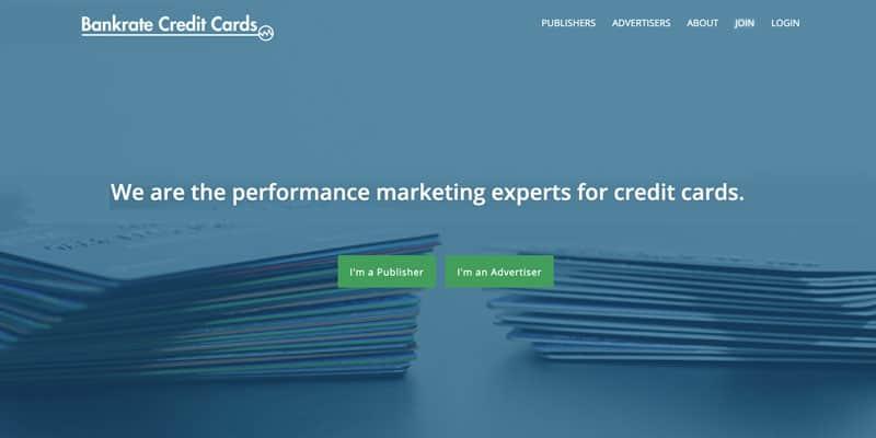 Bankrate credit card affiliate program