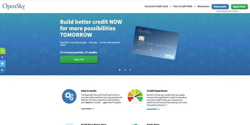 OpenSky credit card affiliate program